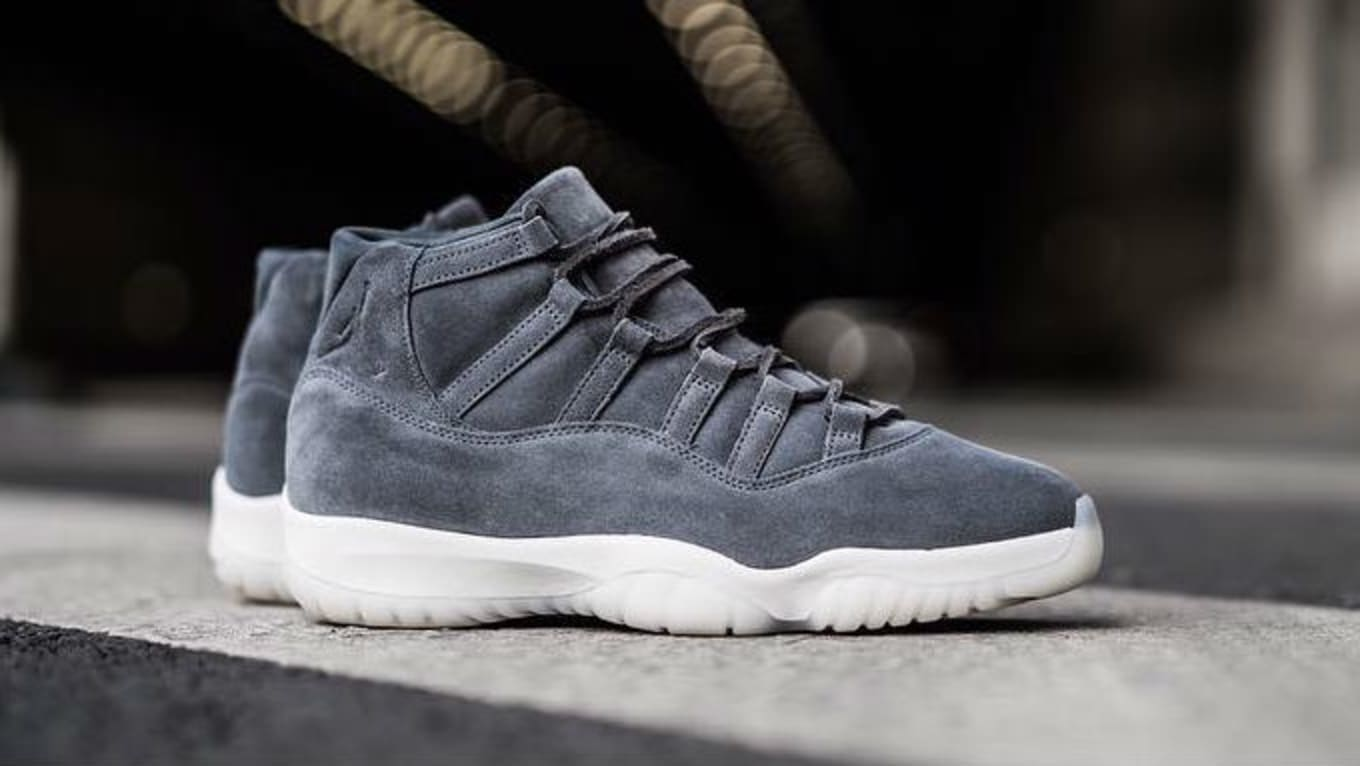 68857a227c82bb Air Jordan 11 Grey Suede 914433-003