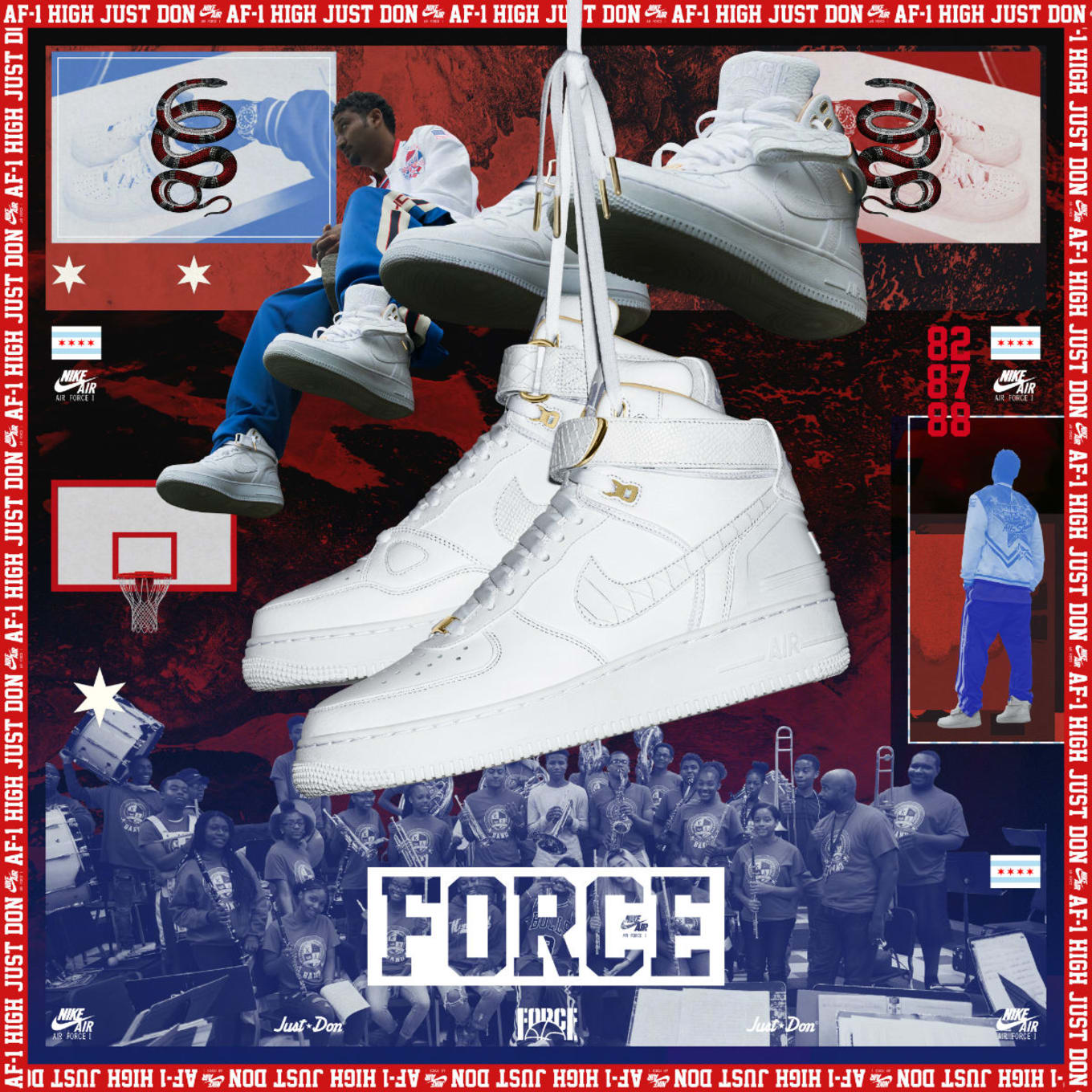 Nike Air Force 1 Af 100 Collection Snkrs Cam App Release Sole