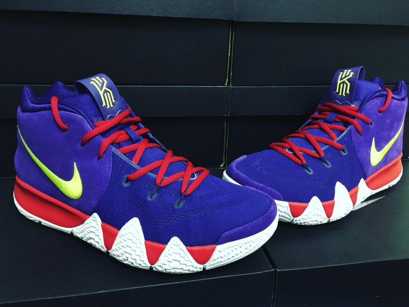 free shipping 35742 4f2dd NIKEiD Kyrie 4 Designs   Sole Collector