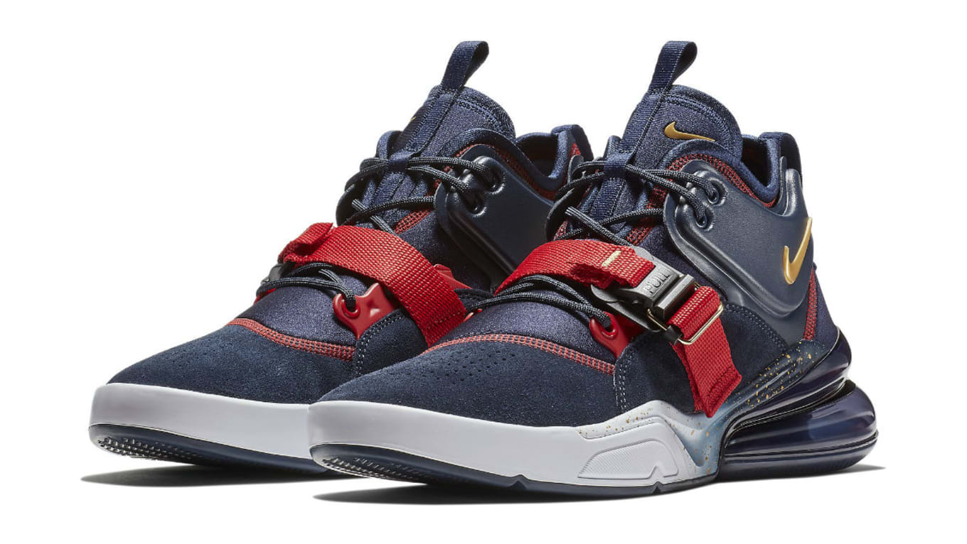 58a929054e Nike Air Force 270 USA Release Date AH6772-400 | Sole Collector