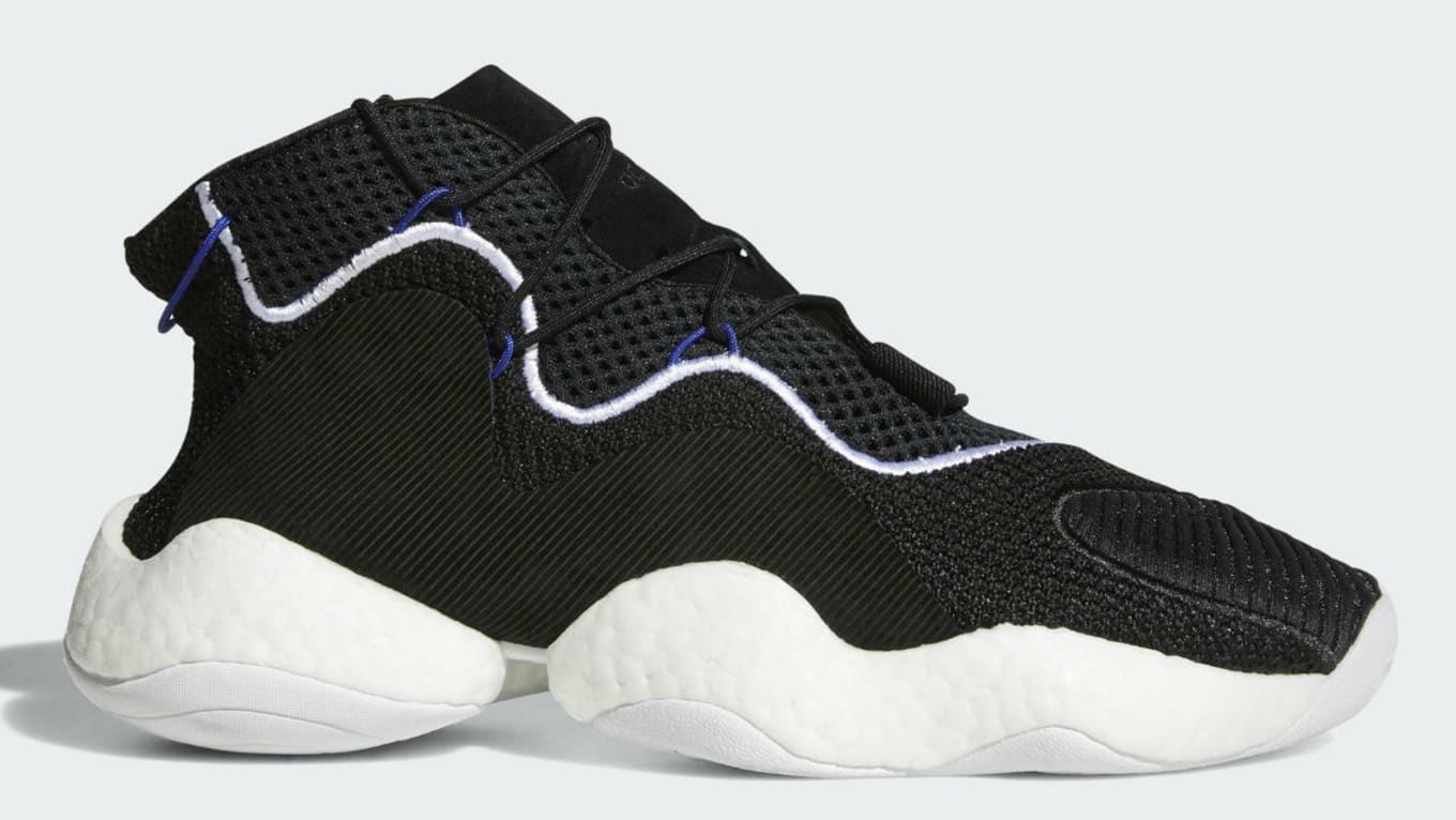 20b1623c81e59 Adidas Crazy BYW LVL 1 Black White Release Date CQ0991