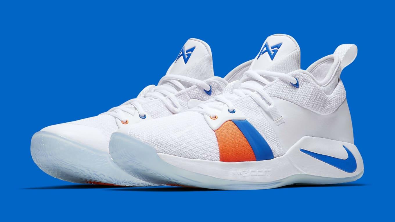 4efe9c58260 Nike PG2 OKC Home Release Date AJ2039-100 Main