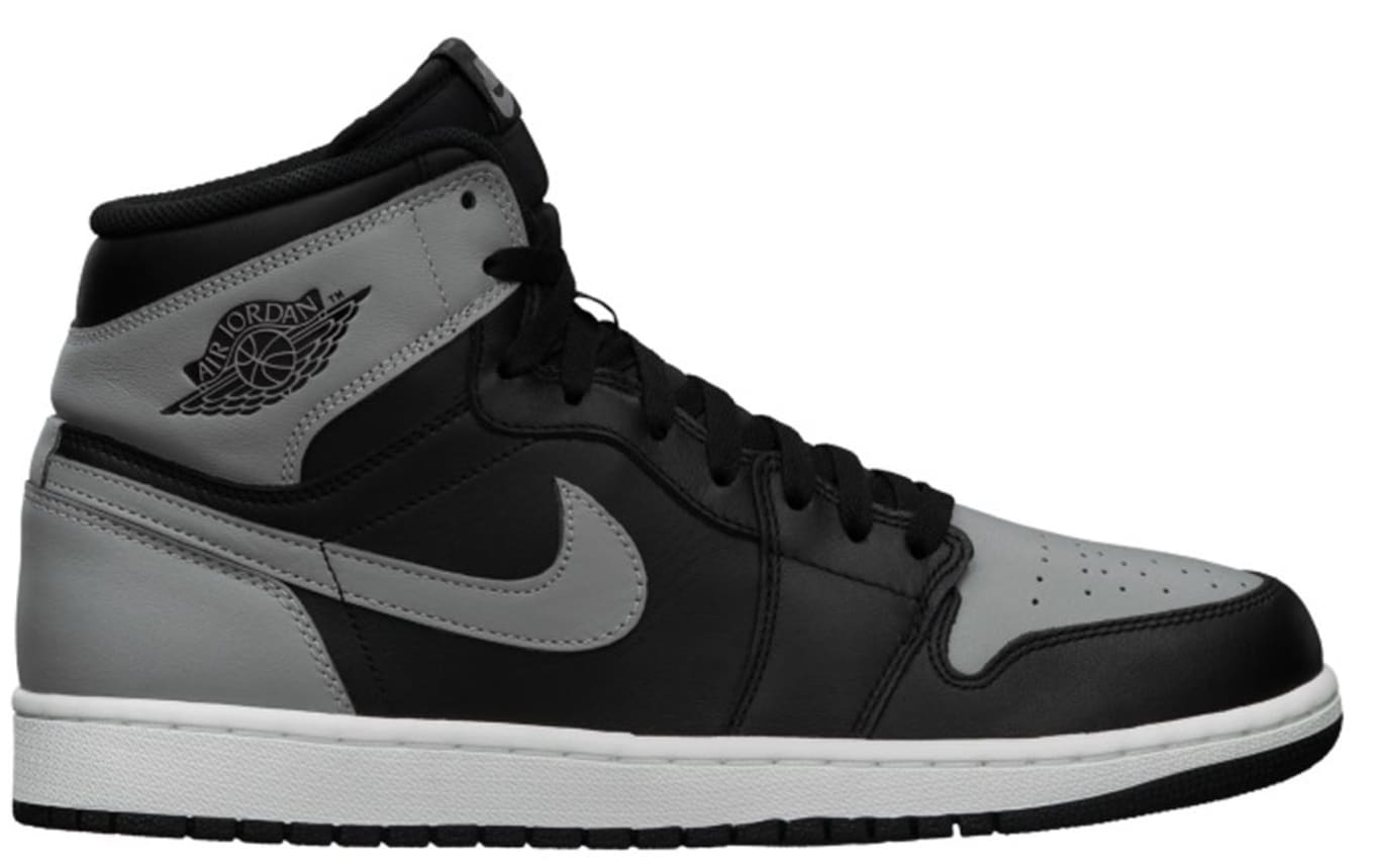 best loved 3ba58 772b1 Air Jordan 1 Retro High OG Black Soft Grey White