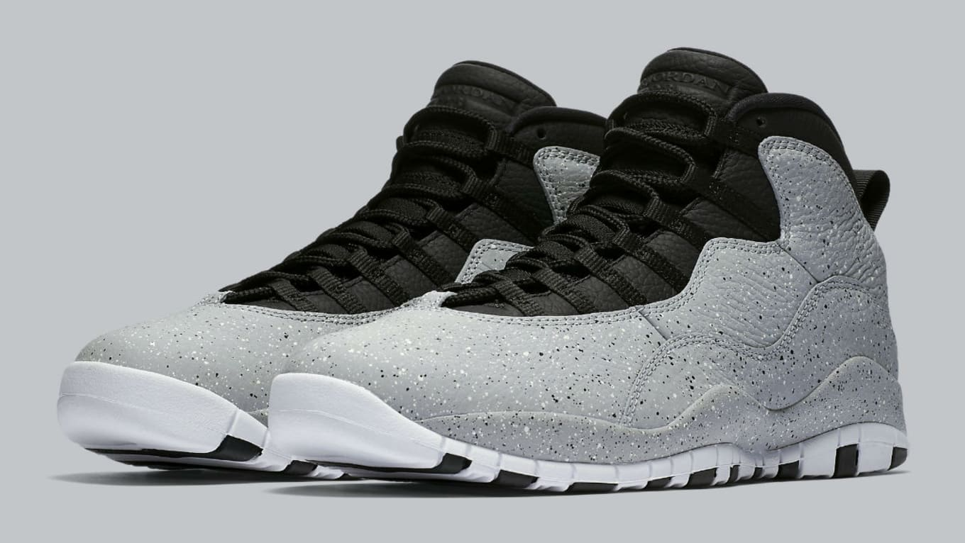 competitive price 5a04f fa146 Air Jordan 10 X Cement Release Date 310805-062 | Sole Collector