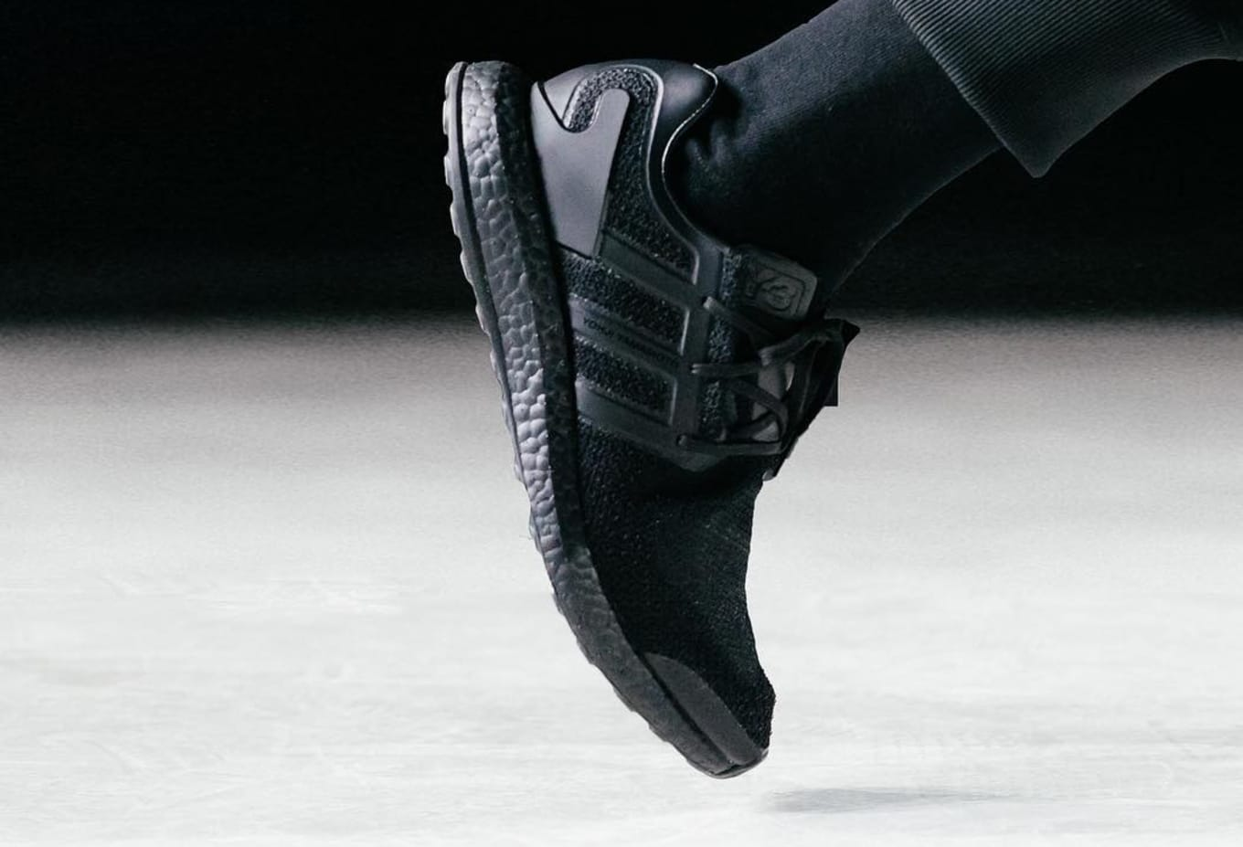 ba2102bb30d3b Adidas Y-3 Pure Boost  Triple Black.  Image via  adidasy3 on Instagram