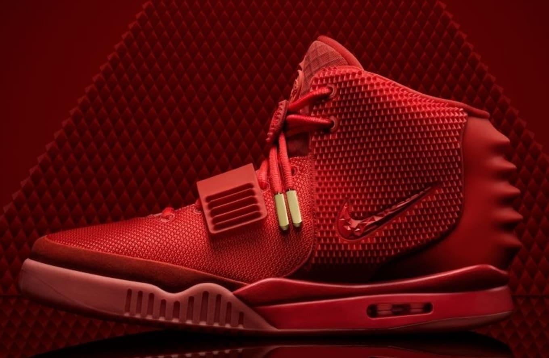 3facc3ead6 Red October Nike Air Yeezy 2 Walmart