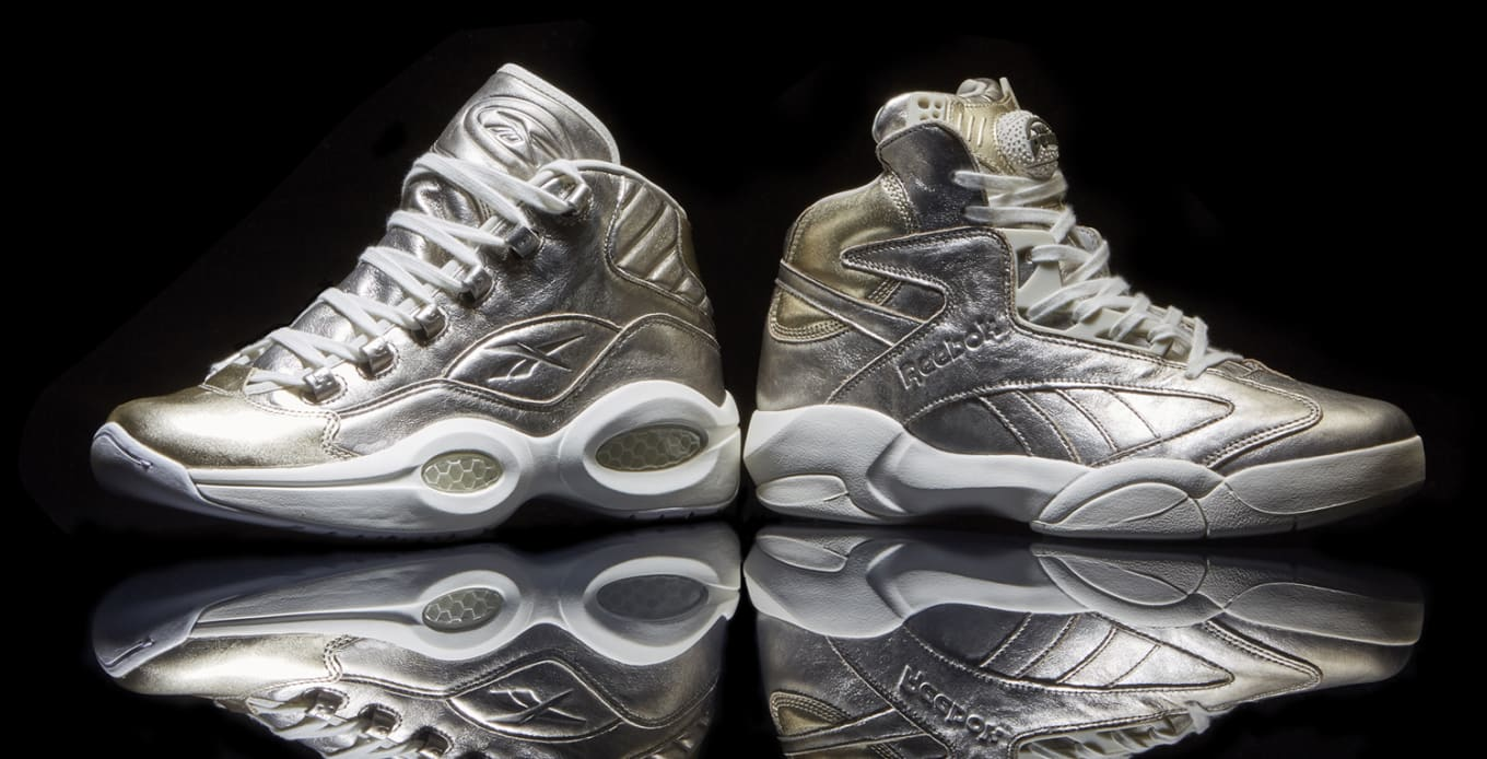 92dae812071 Reebok Celebrates Shaq and Allen Iverson s Basketball Hall of Fame  Inductions