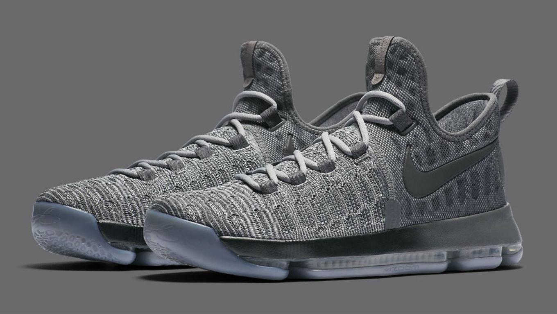 d1c741b6d2c Nike KD 9 Battle Grey 843392-002