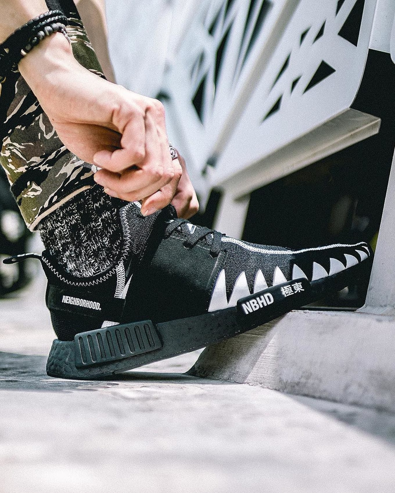 a2f9def24be3b Neighborhood x Adidas NMD Black