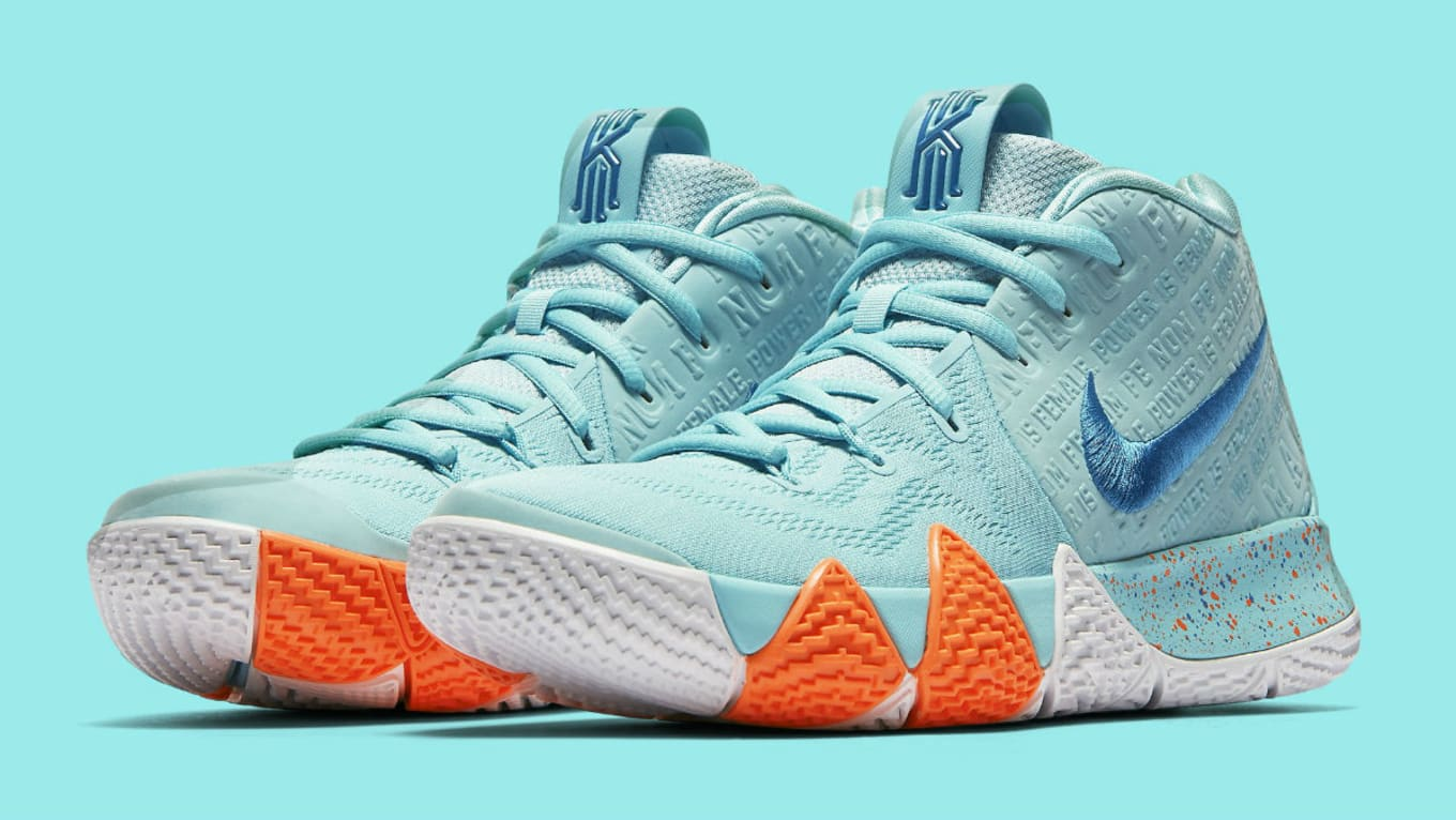0d775ae84e47 Nike Kyrie 4 Power Is Female Release Date 943806-402 Profile