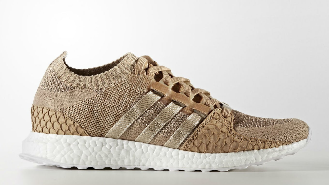 best service 9ac42 fbee7 Pusha T x Adidas EQT Support Ultra Brown Paper Bag Release ...