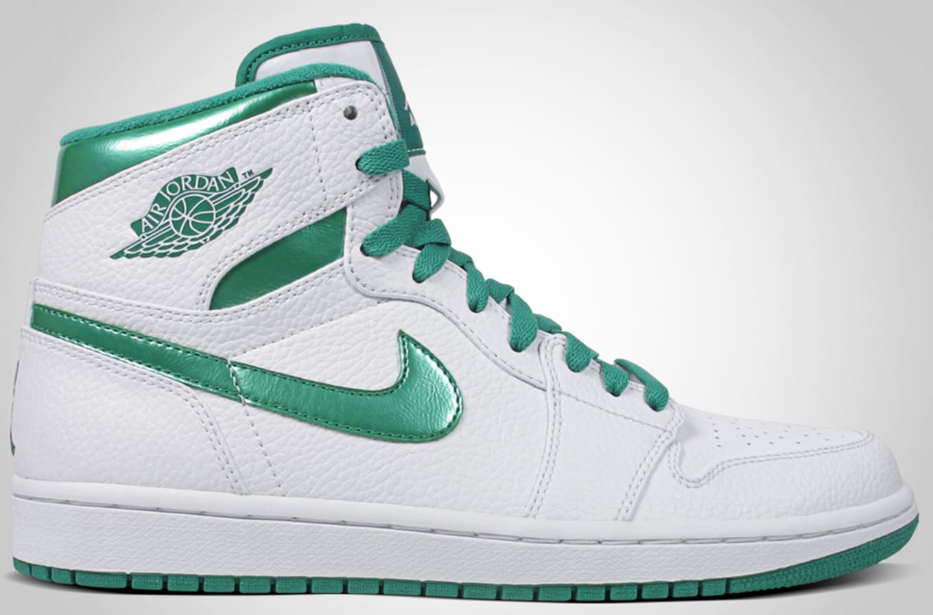 quality design 41fe8 d0af9 Air Jordan 1 High Retro White Sea Green