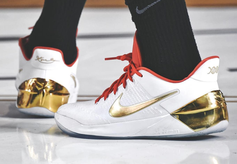 def1c4d1b8b66b DeMar DeRozan Balls Out in Exclusive Nike Kobes. More summer sneaker heat  from the Drew League.