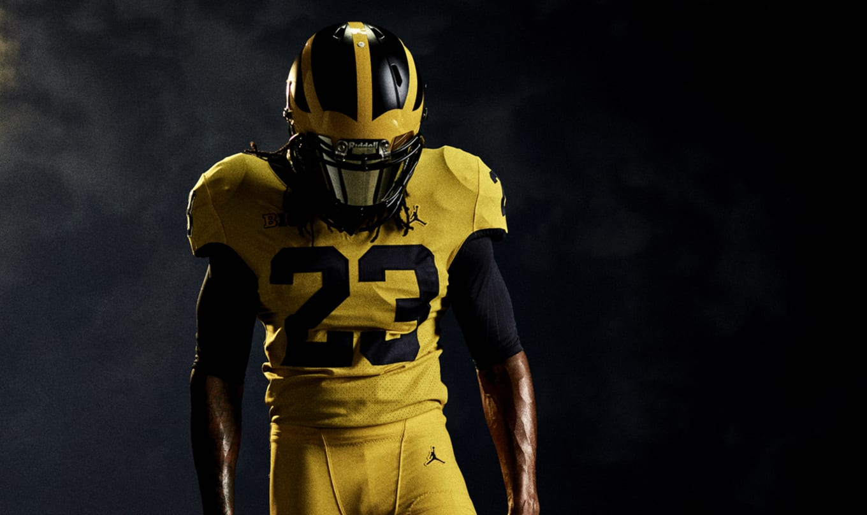 ec1cb3ab09601 Jordan Unveils Uniforms for Michigan Football's Season-Opener