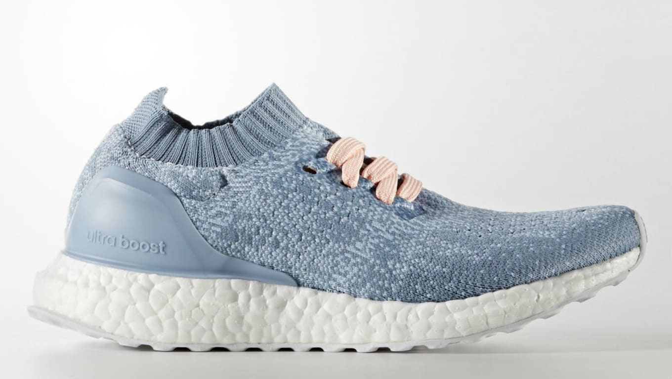 detailed look daf48 2a3a8 Adidas Ultra Boost Uncaged Women's Light Blue BB3049 | Sole ...