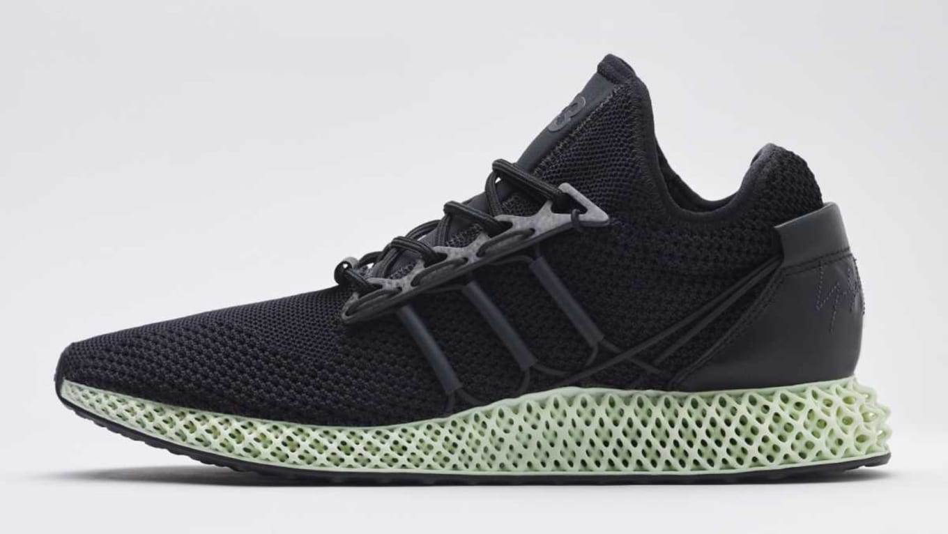 1c80fa5143991 Adidas Y-3 Unveils a New Version of Its 4D Printed Running Shoe