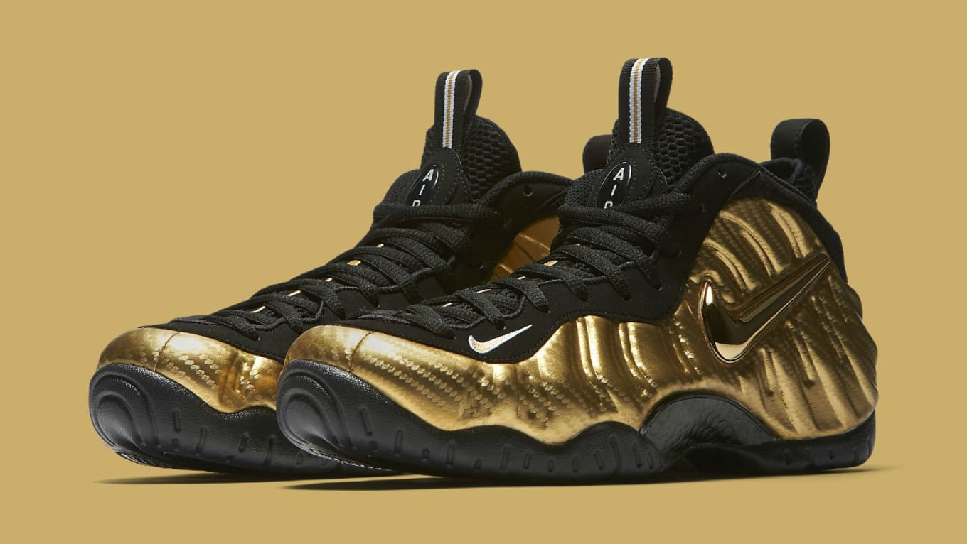 71c69529bf8ba Nike Air Foamposite Pro Metallic Gold Release Date 624041-701 | Sole ...