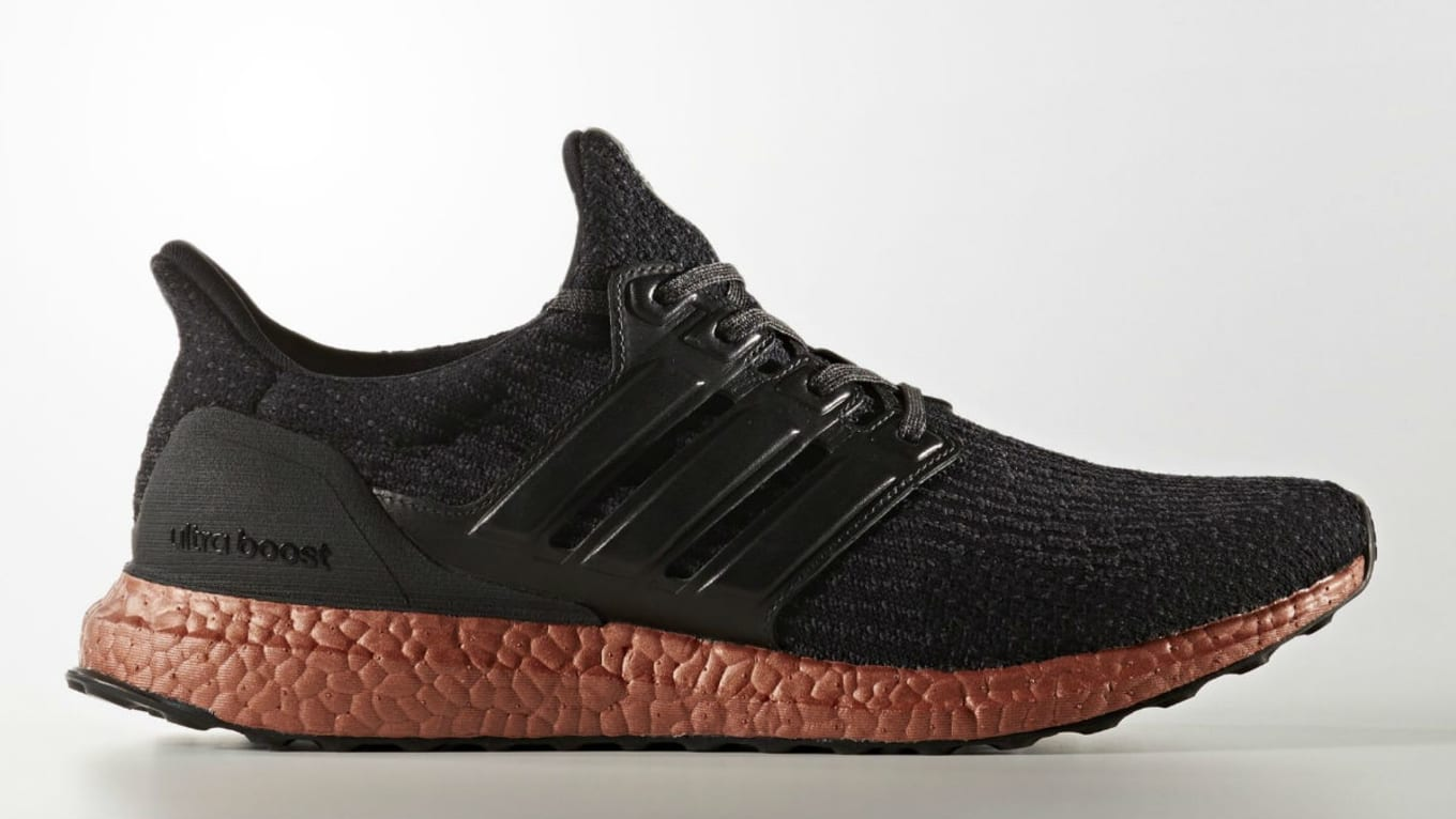 Adidas Ultra Boost 3.0 Black Bronze Sole Release Date | Sole