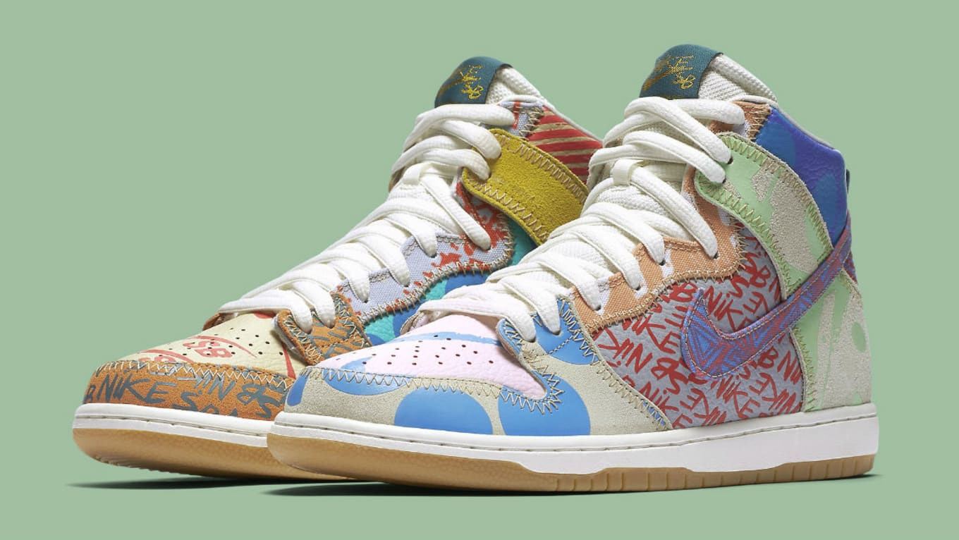 san francisco 179ad a17ef Thomas Campbell to Release First Nike SB Collaboration. The SB Dunk High  gets another  What The  remix.