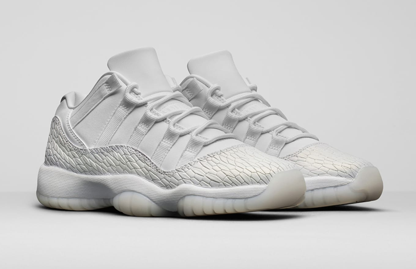 f80088991d6f97 Heiress Air Jordan 11 Low White 89733-100