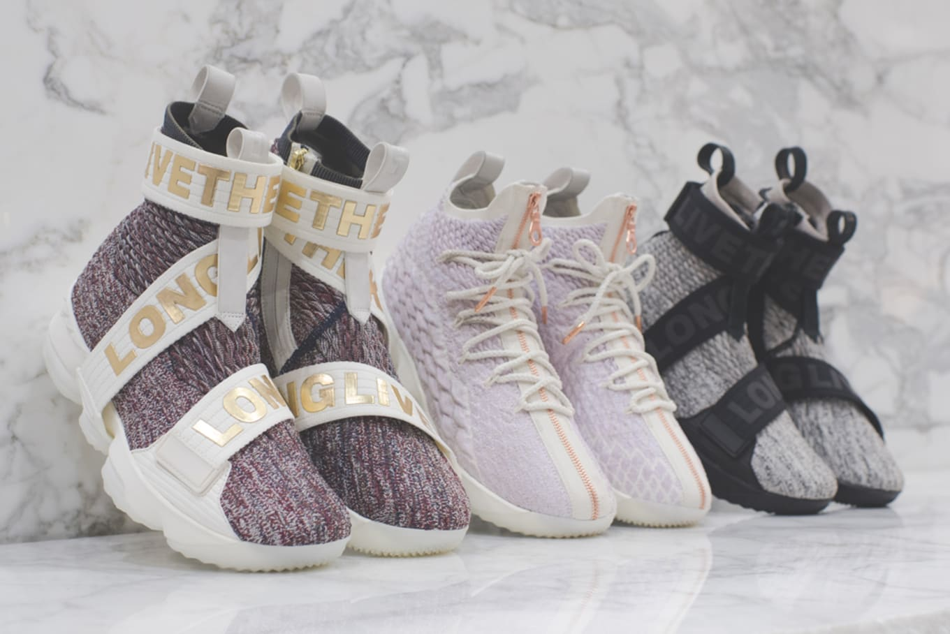 new concept d9a66 60613 Kith Nike LeBron 15 Long Live the King Release Date   Sole ...