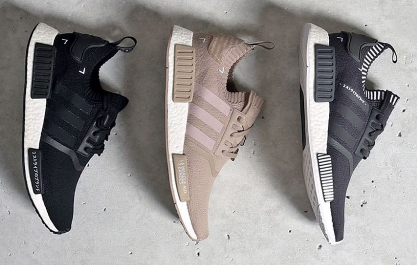 4ea2bee8ee8 These Primeknit Adidas NMDs Restocked Today. Foot Locker ...