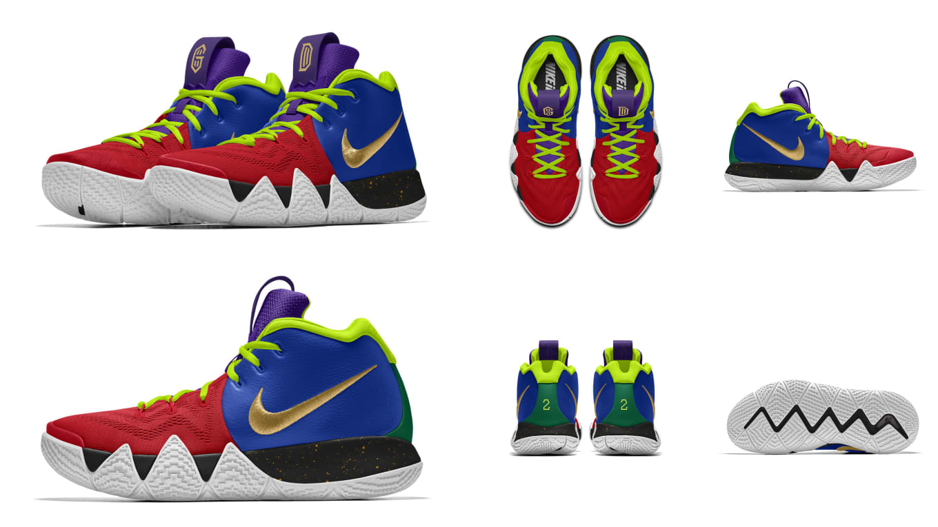 2f3ba9ebfa43 Nike Kyrie 4  Be Different  - Nike Let Players Design Sneakers for ...
