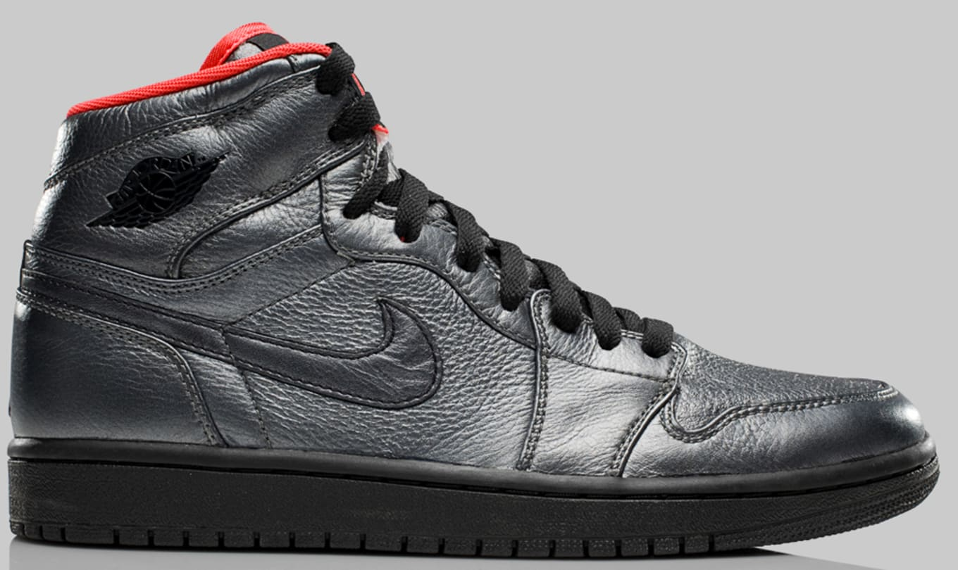 best sneakers ddb77 62c04 Air Jordan 1 High Retro Premier Pewter Black Max Orange