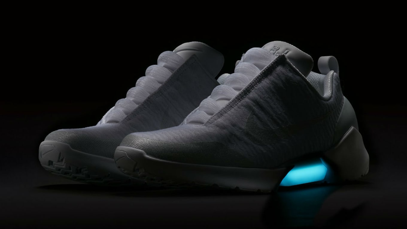 low priced 5b8d7 d3952 Two New Colorways of Nikes Self-Lacing HyperAdapt 1.0 Releasing Tomorrow