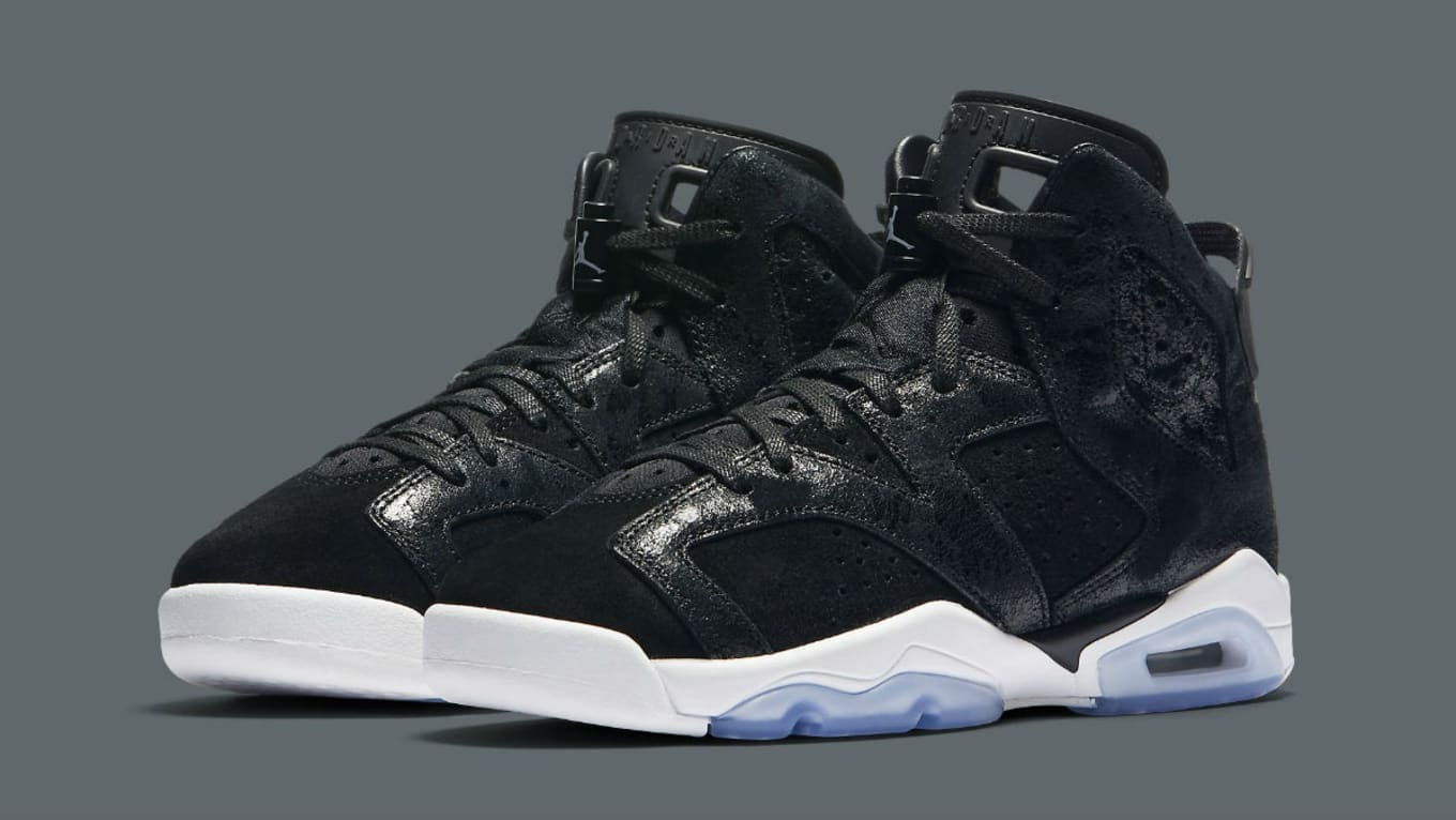 fa7b4c5d0fcde0 Air Jordan 6 Joins the Heiress Collection. Premium details on this make-up  for the ladies.
