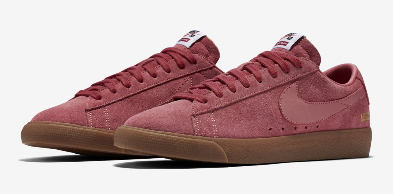 the best attitude b0e5f 0a3c5 Nike SB Blazer Low GT x Supreme