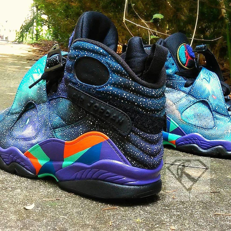 9f8122811ce3da Space Jam Air Jordan Custom Sneakers