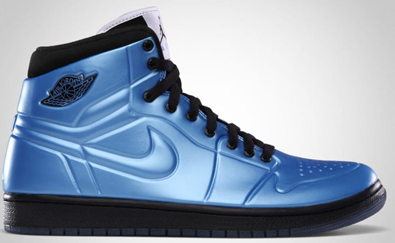 free shipping 4796b 3d573 Air Jordan 1 High Retro Anodized University Blue Black White