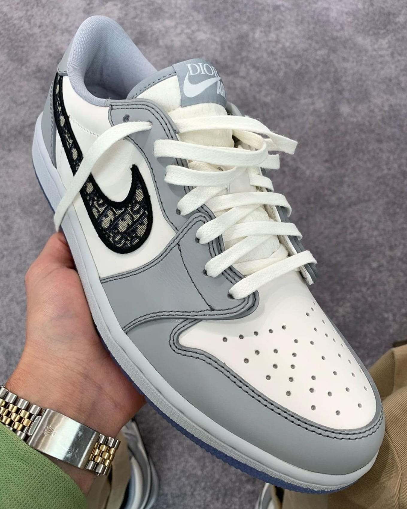 Dior x Air Jordan 1 Low First Look | Sole Collector