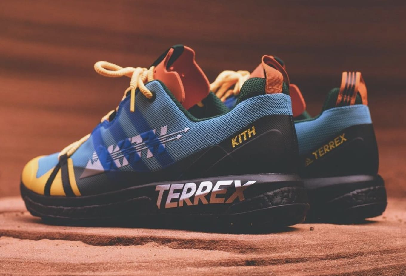 online store e3d9d 043ad A colorful pair of the Terrex Agravic GTX.