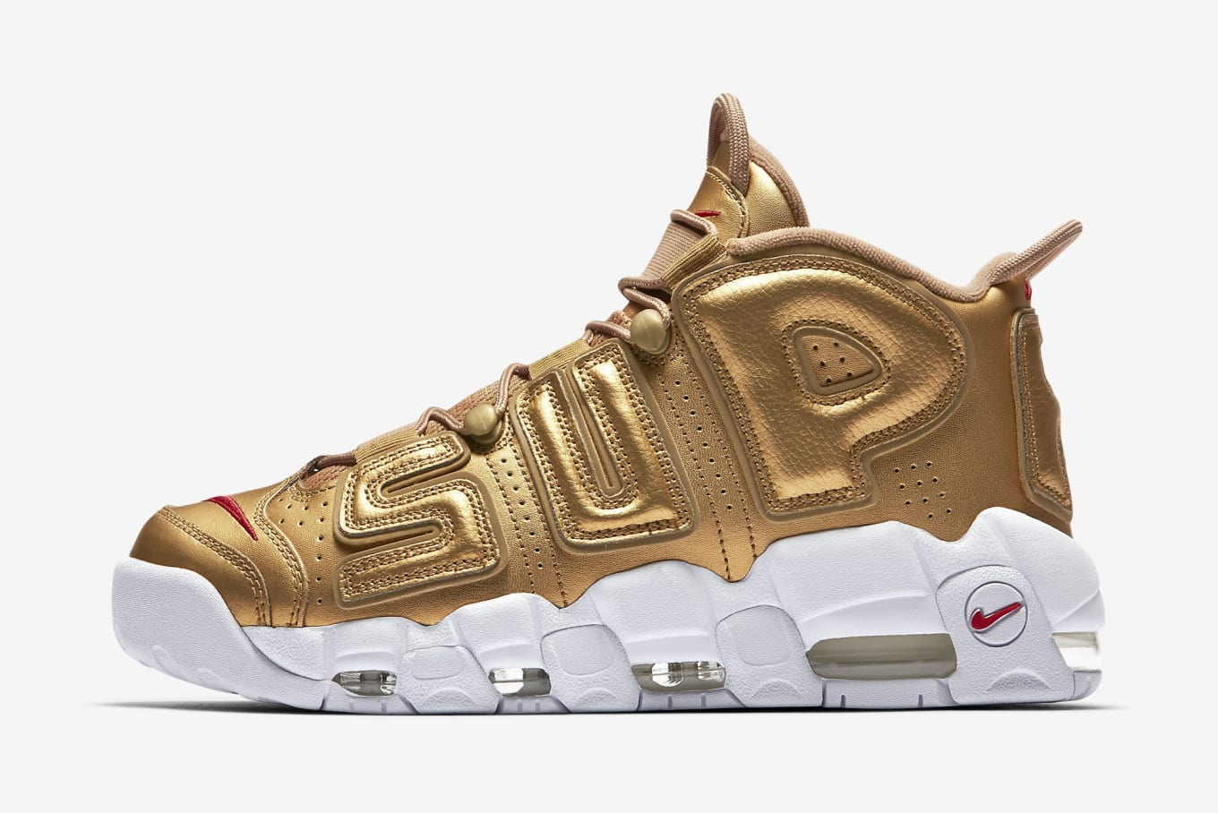 a78f2f5241f744 Supreme x Nike Air More Uptempo