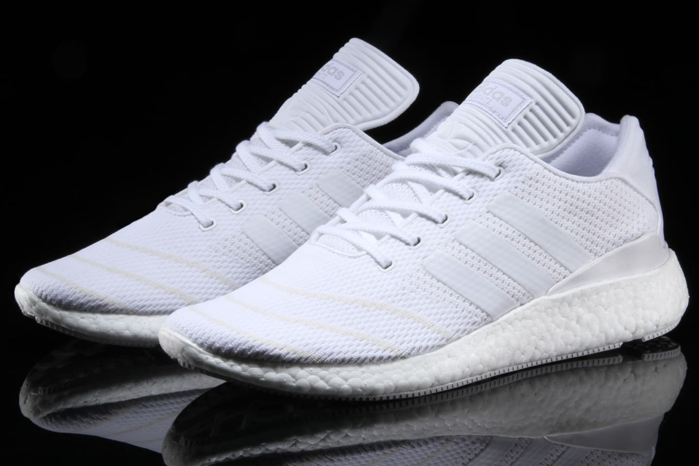 be9d8c0243383 Triple White Adidas Busenitz Pure Boost PK BB8376