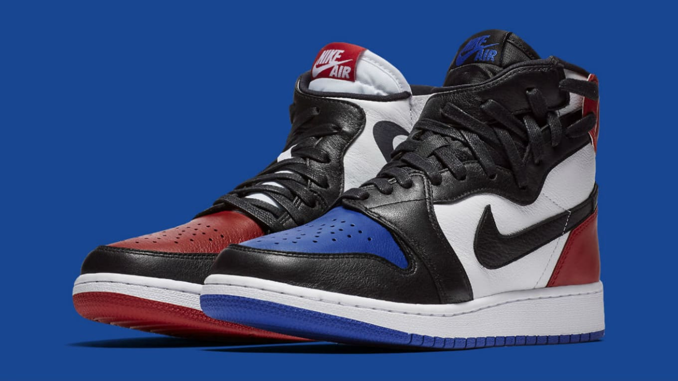 07319f15cb9 The Women's Version of the 'Top 3' Air Jordan 1 Arrives Next Week. The  remixed Rebel model gets a familiar color scheme.
