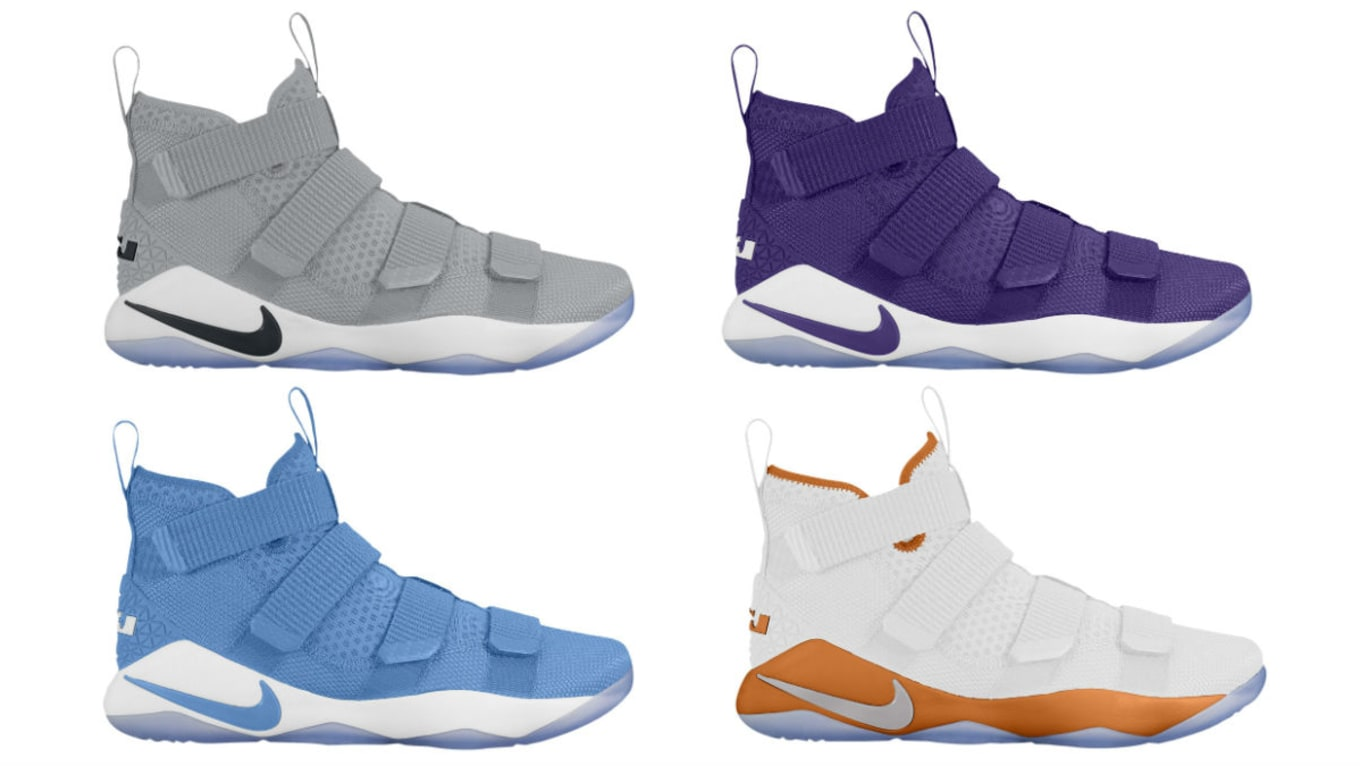 4f6fcb72a7fe Nike LeBron Soldier 11 Team Bank Colorways