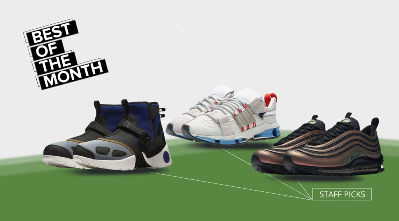692eb8c699c2f The Sole Collector staff breaks down their favorite sneakers this month.