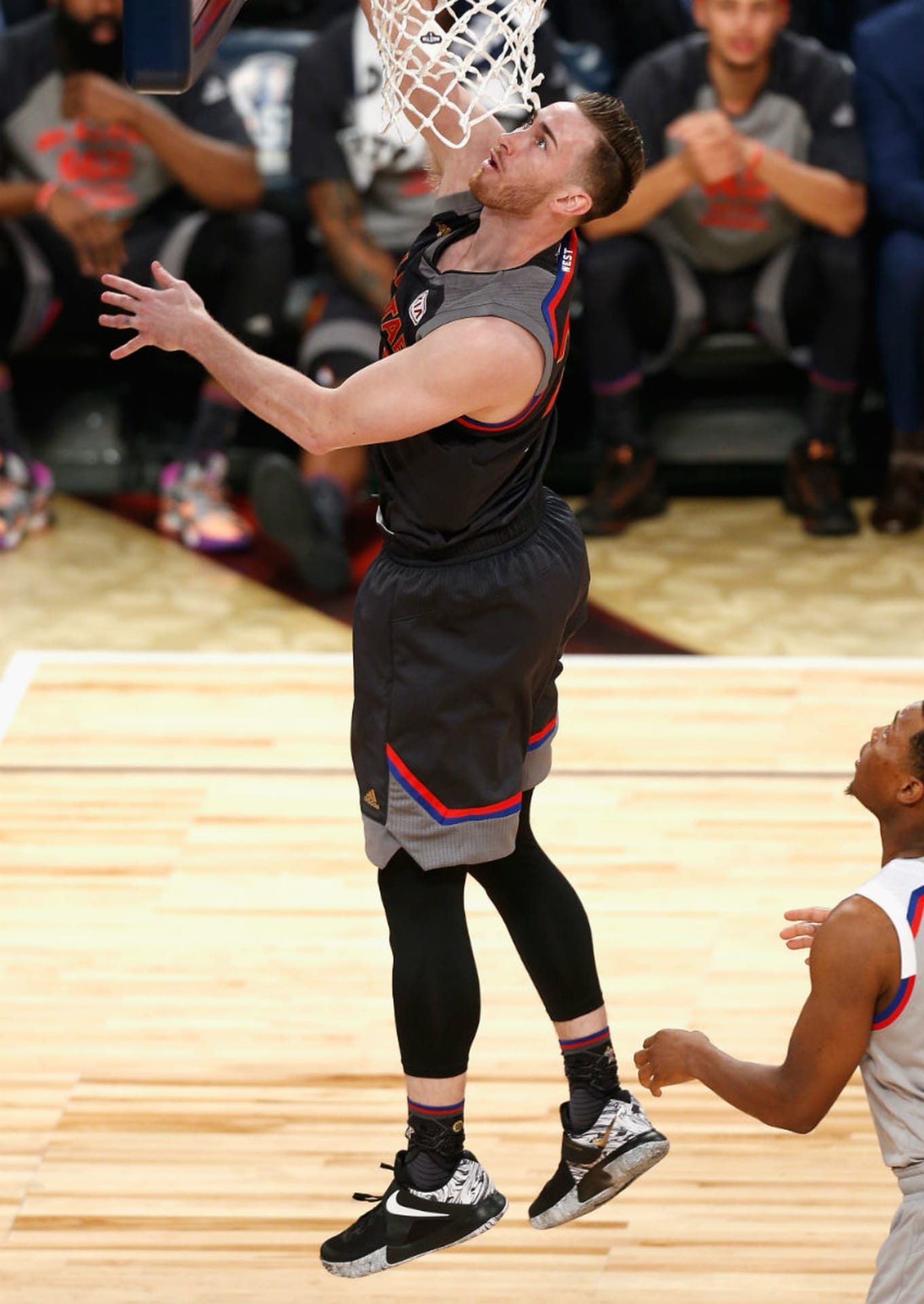 Image via Jonathan Bachman for Getty Images. Shoe  Nike Zoom Live