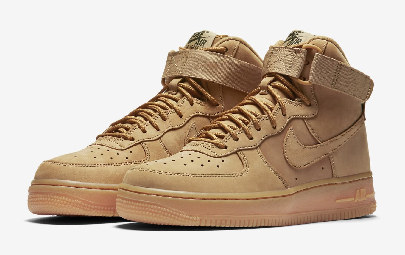 Wheat Nike Air Force 1 High Womens 654440-200  94c48f0442