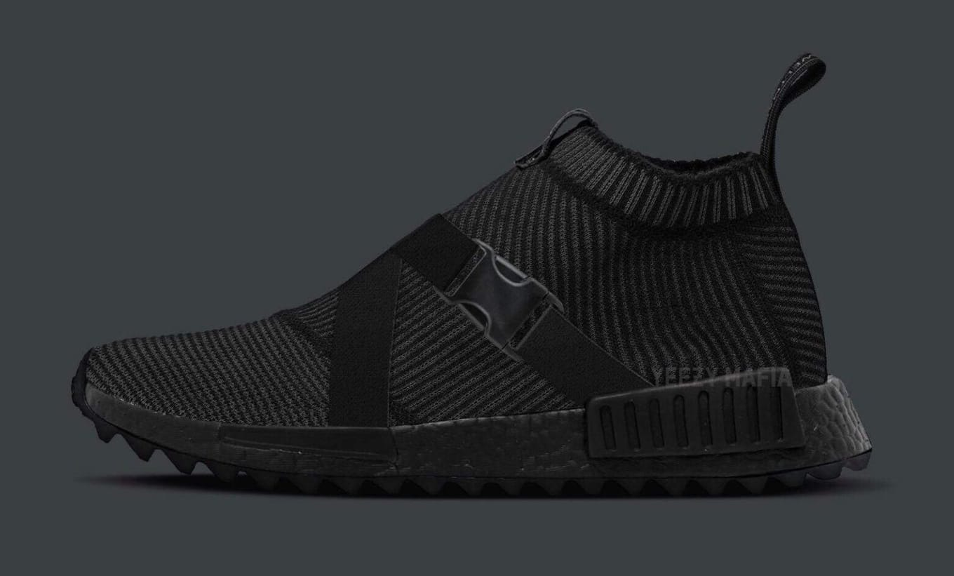 best service 2e03a 90021 Triple Black Adidas NMD CS1 Trail The Good Will Out | Sole ...