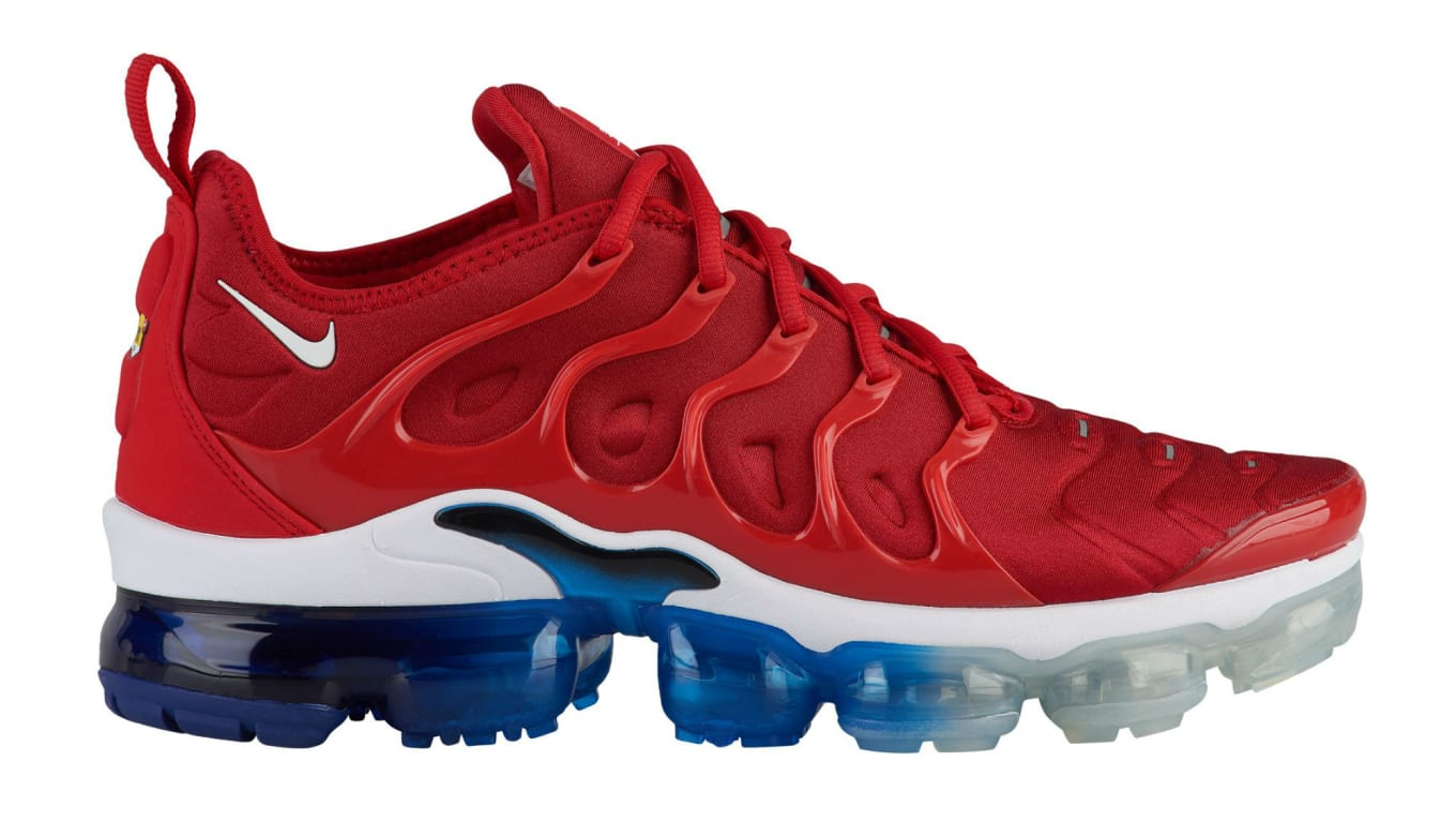 63113a93b17c70 Nike Air VaporMax Plus USA Red White Blue Release Date 924453-601 ...