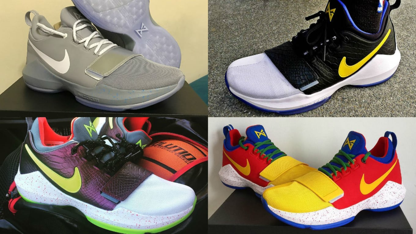 huge selection of 77930 e90bd Best Custom NIKEiD PG1 Designs | Sole Collector