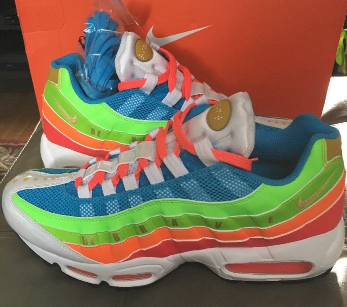 low priced 43d77 f3761 Doernbecher Nike Air Max 95 Sample   Sole Collector
