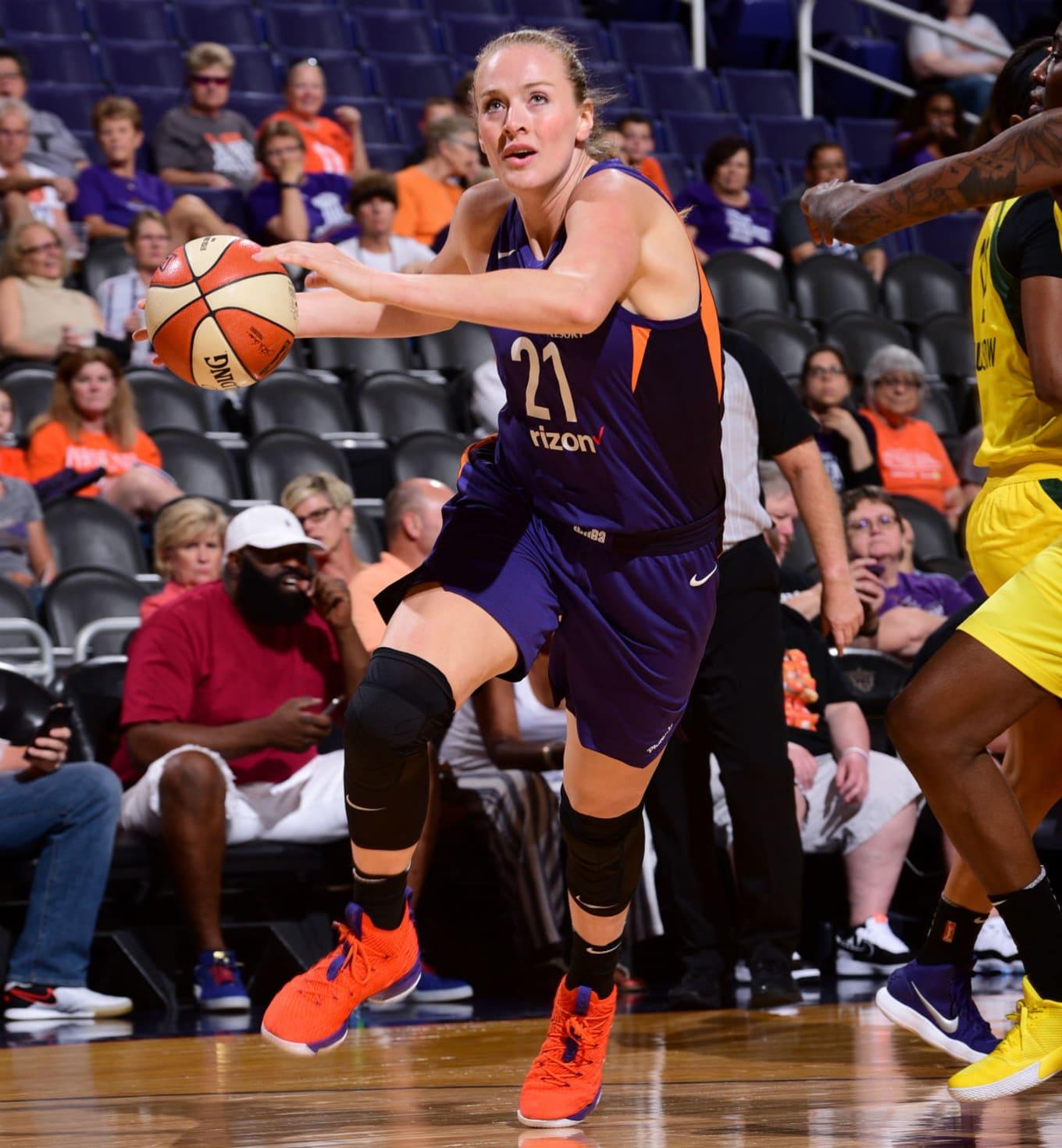 5499b7fa14c47 #SoleWatch: WNBA Rookie Begins Career in Exclusive Nike LeBron 15