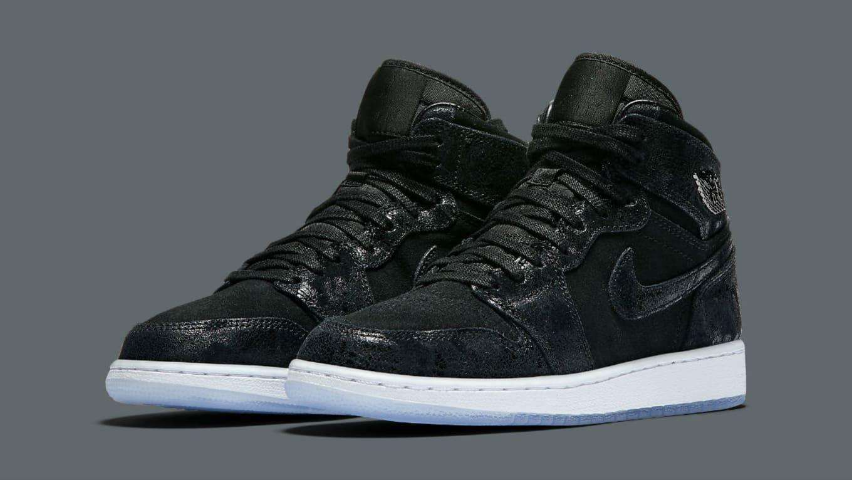 d6830770f199a1 Air Jordan 1 Heiress Black Suede Release Date 832596-001
