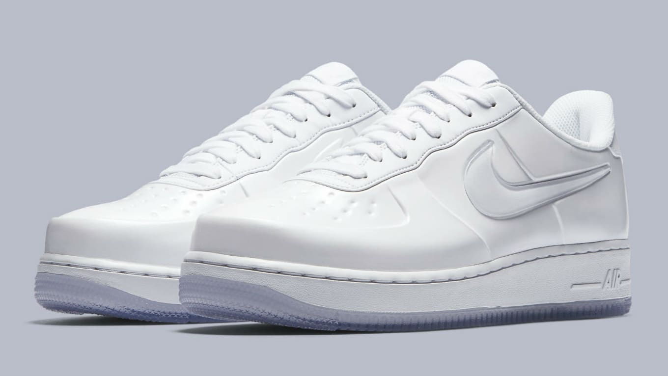 b1afbe0514f Nike Air Force 1 Foamposite Pro Cup White Release Date AJ3664-100 ...