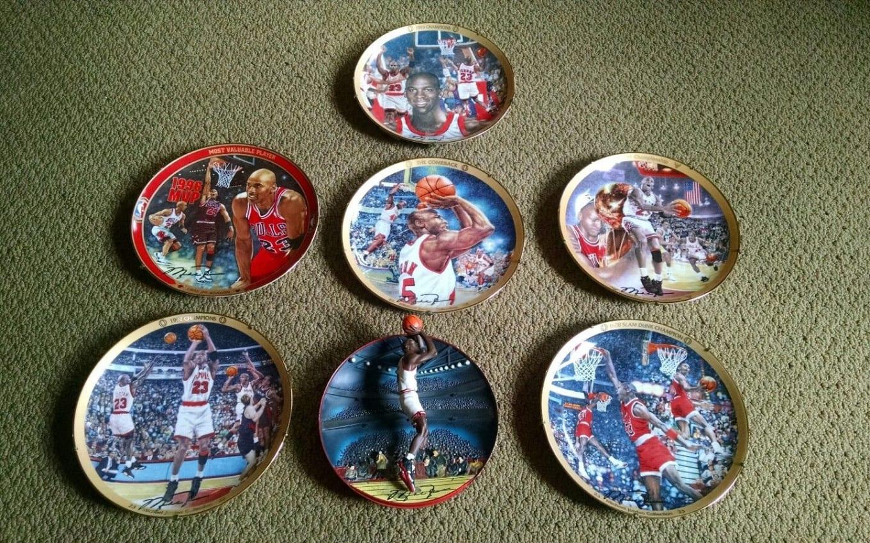 40a951463472a7 ... Most Valuable Plates - Michael Jordan Memorabilia Ebay Sole Collector  ...